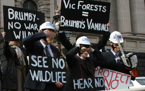 Vicforests - Protect No Wildlife